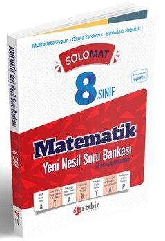 Artıbir Yayınları 8. Sınıf LGS Matematik SoloMat Yeni Nesil Soru Bankası