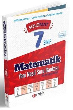 Artıbir Yayınları 7. Sınıf Matematik SoloMat Yeni Nesil Soru Bankası