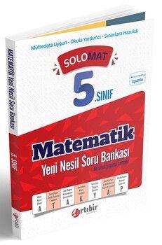 Artıbir Yayınları 5. Sınıf Matematik SoloMat Yeni Nesil Soru Bankası