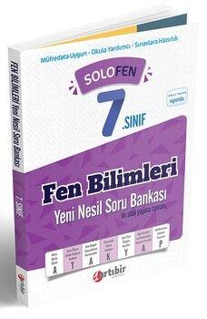 Artıbir Yayınları 7. Sınıf Fen Bilimleri SoloFen Yeni Nesil Soru Bankası