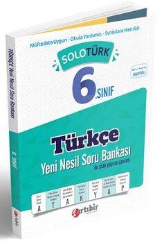 Artıbir Yayınları 6. Sınıf Türkçe SoloTürk Yeni Nesil Soru Bankası