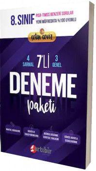 Artıbir Yayınları 8. Sınıf Çetin Ceviz 7li Deneme Paketi