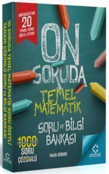 Artınet Yayınları On Soruda Temel Matematik Konu Özetli Soru ve Bilgi Bankası