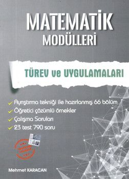 Artınet Yayınları Matematik Modülleri Türev ve Uygulamaları