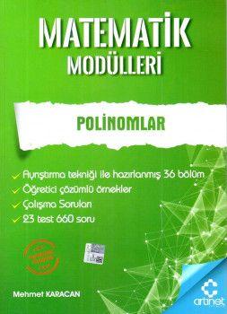 Artınet Yayınları Matematik Modülleri Polinomlar