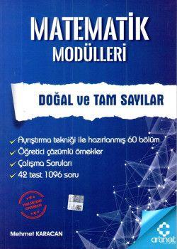 Artınet Yayınları Matematik Modülleri Doğal ve Tam Sayılar