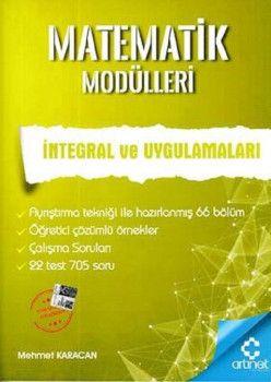 Artınet Yayınları Matematik Modülleri İntegral ve Uygulamaları