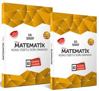 Asel 10. Sınıf Matematik Konu Özetli Soru Bankası Seti 2 Kitap