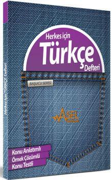 Asel Başucu Serisi Herkes için Türkçe Defteri