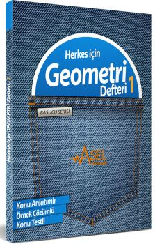 Asel Başucu Serisi Herkes için Geometri Defteri 1