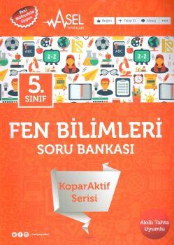 Asel Yayınları 5. Sınıf Fen Bilimleri KoparAktif Serisi Soru Bankası