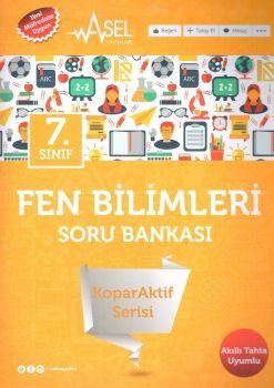 Asel Yayınları 7. Sınıf Fen Bilimleri KoparAktif Serisi Soru Bankası