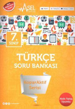 Asel Yayınları 7. Sınıf Türkçe KoparAktif Serisi Soru Bankası