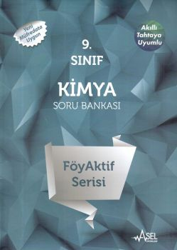 Asel Yayınları 9. Sınıf Kimya FöyAktif Serisi Soru Bankası