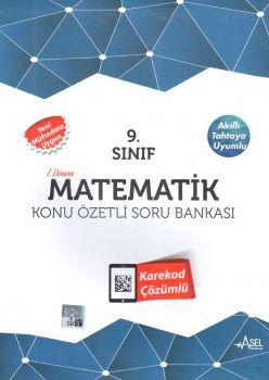 Asel Yayınları 9. Sınıf Matematik Konu Özetli Soru Bankası 2 Kitap