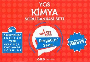Asel Yayınları YGS Kimya Soru Bankası Seti