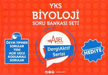 Asel Yayınları YKS 2. Oturum Biyoloji Soru Bankası Set Dergi Aktif Serisi