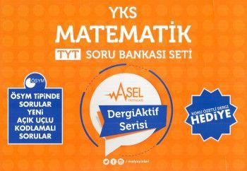 Asel Yayınları YKS 1. Oturum TYT Matematik Soru Bankası Seti Dergi Aktif Serisi