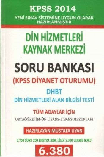 Asil Yayın DHBT Diyanet İşleri Başkanlığı Soru Bankası 2014