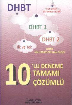 Asil Yayınları DHBT Tamamı Çözümlü 10 Deneme Sınavı