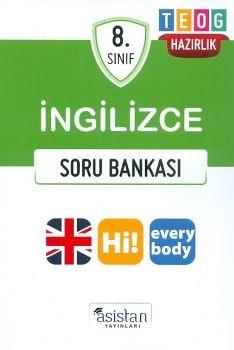 Asistan Yayınları 8. Sınıf TEOG İngilizce Soru Bankası