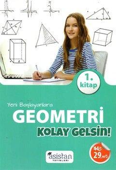 Asistan Yayınları Yeni Başlayanlara Geometri 1.Kitap