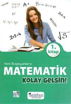Asistan Yayınları Yeni Başlayanlara Matematik 1.Kitap