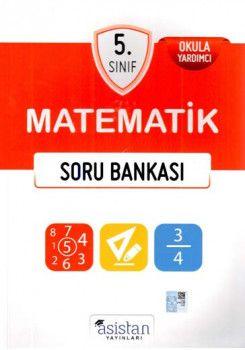 Asistan Yayınları 5. Sınıf Matematik Soru Bankası