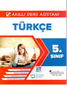 Asistan Yayınları 5. Sınıf Türkçe Akıllı Ders Asistanı