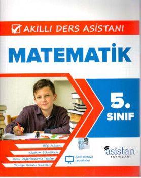 Asistan Yayınları 5. Sınıf Matematik Akıllı Ders Asistanı