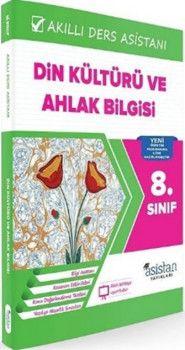 Asistan Yayınları 8. Sınıf Din Kültürü ve Ahlak Bilgisi Akıllı Ders Asistanı