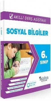 Asistan Yayınları 6. Sınıf Sosyal Bilgiler Akıllı Ders Asistanı