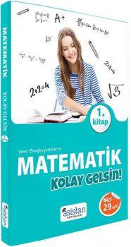 Asistan YayınlarıYeni Başlayanlara Matematik Kolay Gelsin 1. Kitap Konu Anlatımlı