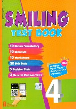 Ata Yayıncılık 4 .Sınıf Smiling Test Book