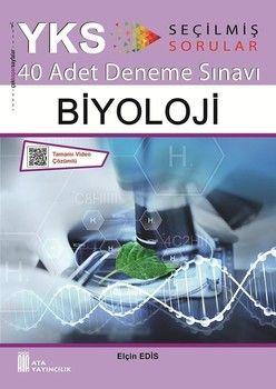 Ata Yayıncılık TYT AYT Biyoloji 40 lı Deneme Sınavı Enerji Serisi