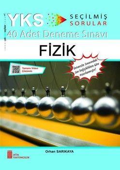 Ata Yayıncılık TYT AYT Fizik 40 lı Deneme Sınavı Enerji Serisi