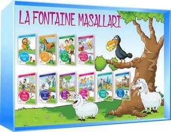 Ata Yayıncılık La Fontaıne Masalları 10 lu Set