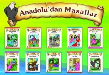 Ata Yayıncılık Anadolu dan Masallar 10 lu Set