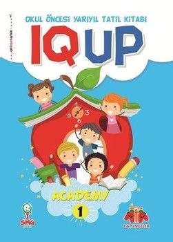 Ata Yayıncılık IQ UP Academy 1 Yarıyıl Tatil Kitabı