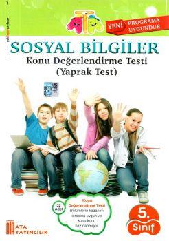 Ata Yayıncılık 5. Sınıf Sosyal Bilgiler Konu Değerlendirme Testi