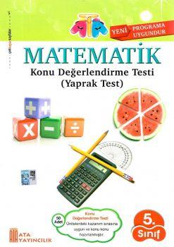 Ata Yayıncılık 5. Sınıf Matematik Konu Değerlendirme Testi