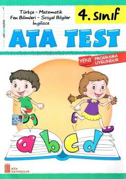 Ata Yayıncılık 4. Sınıf Tüm Dersler Çek Kopar Test