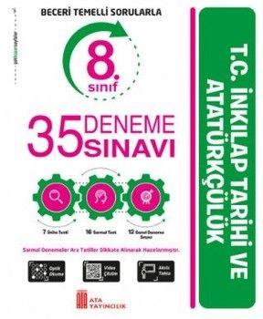 Ata Yayıncılık 8. Sınıf T.C. İnkılap Tarihi ve Atatürkçülük 35 Deneme