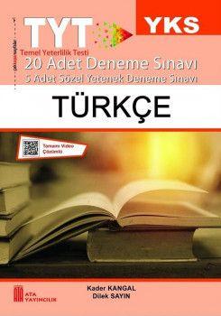 Ata Yayıncılık YKS 1. Oturum TYT Türkçe 20 Deneme Sınavı