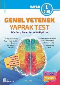 Ata Yayıncılık 1. Sınıf Bilsem Genel Yetenek Yaprak Test