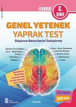 Ata Yayıncılık 2. Sınıf Bilsem Genel Yetenek Yaprak Test