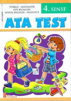 Ata Yayıncılık 4. Sınıf Ata Test Çek Kopar Sayfalar