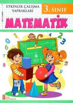 Ata Yayıncılık 3. Sınıf Matematik Etkinlik Çalışma Yaprakları