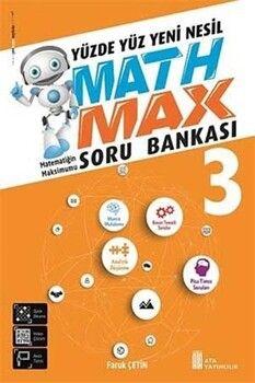 Ata Yayıncılık 3. Sınıf Math Max Matematik Yüzde Yüz Yeni Nesil Soru Bankası