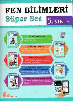 Ata Yayıncılık 5. Sınıf Fen Bilimleri Süper Set